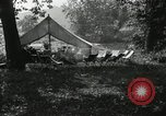 Image of group camping Maryland United States USA, 1921, second 3 stock footage video 65675031998