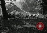 Image of group camping Maryland United States USA, 1921, second 4 stock footage video 65675031998