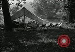 Image of group camping Maryland United States USA, 1921, second 5 stock footage video 65675031998