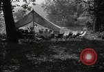 Image of group camping Maryland United States USA, 1921, second 6 stock footage video 65675031998