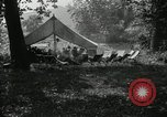 Image of group camping Maryland United States USA, 1921, second 7 stock footage video 65675031998