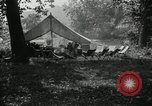 Image of group camping Maryland United States USA, 1921, second 8 stock footage video 65675031998