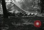Image of group camping Maryland United States USA, 1921, second 9 stock footage video 65675031998