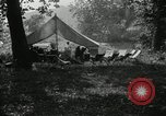 Image of group camping Maryland United States USA, 1921, second 10 stock footage video 65675031998