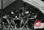 Image of group camping Maryland United States USA, 1921, second 15 stock footage video 65675031998