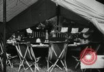 Image of group camping Maryland United States USA, 1921, second 16 stock footage video 65675031998