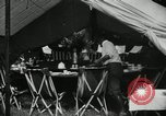 Image of group camping Maryland United States USA, 1921, second 21 stock footage video 65675031998