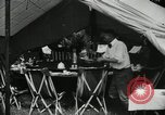 Image of group camping Maryland United States USA, 1921, second 23 stock footage video 65675031998