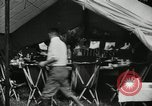 Image of group camping Maryland United States USA, 1921, second 24 stock footage video 65675031998