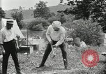 Image of group camping Maryland United States USA, 1921, second 44 stock footage video 65675031999