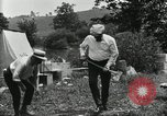 Image of group camping Maryland United States USA, 1921, second 54 stock footage video 65675031999