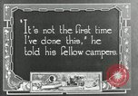 Image of group camping Maryland United States USA, 1921, second 55 stock footage video 65675031999
