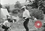 Image of group camping Maryland United States USA, 1921, second 57 stock footage video 65675031999