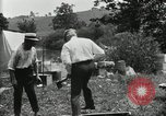 Image of group camping Maryland United States USA, 1921, second 59 stock footage video 65675031999