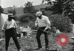 Image of group camping Maryland United States USA, 1921, second 60 stock footage video 65675031999