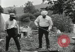 Image of group camping Maryland United States USA, 1921, second 61 stock footage video 65675031999