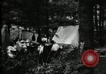 Image of group camping Maryland United States USA, 1921, second 17 stock footage video 65675032000