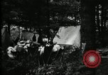 Image of group camping Maryland United States USA, 1921, second 18 stock footage video 65675032000