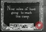 Image of group camping Maryland United States USA, 1921, second 1 stock footage video 65675032001