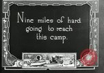 Image of group camping Maryland United States USA, 1921, second 5 stock footage video 65675032001