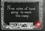 Image of group camping Maryland United States USA, 1921, second 6 stock footage video 65675032001