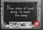 Image of group camping Maryland United States USA, 1921, second 7 stock footage video 65675032001