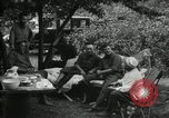 Image of Warren G Harding camping with Ford, Firestone, and Edison Maryland United States USA, 1921, second 17 stock footage video 65675032004