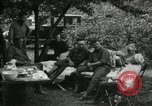 Image of Warren G Harding camping with Ford, Firestone, and Edison Maryland United States USA, 1921, second 18 stock footage video 65675032004