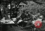 Image of Warren G Harding camping with Ford, Firestone, and Edison Maryland United States USA, 1921, second 19 stock footage video 65675032004
