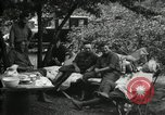 Image of Warren G Harding camping with Ford, Firestone, and Edison Maryland United States USA, 1921, second 20 stock footage video 65675032004