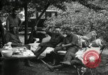 Image of Warren G Harding camping with Ford, Firestone, and Edison Maryland United States USA, 1921, second 21 stock footage video 65675032004