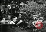 Image of Warren G Harding camping with Ford, Firestone, and Edison Maryland United States USA, 1921, second 23 stock footage video 65675032004