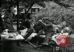 Image of Warren G Harding camping with Ford, Firestone, and Edison Maryland United States USA, 1921, second 24 stock footage video 65675032004