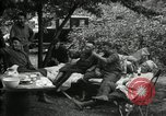 Image of Warren G Harding camping with Ford, Firestone, and Edison Maryland United States USA, 1921, second 25 stock footage video 65675032004