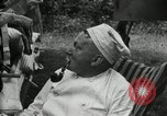 Image of Warren G Harding camping with Ford, Firestone, and Edison Maryland United States USA, 1921, second 29 stock footage video 65675032004