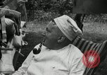 Image of Warren G Harding camping with Ford, Firestone, and Edison Maryland United States USA, 1921, second 30 stock footage video 65675032004