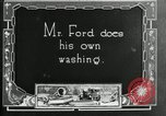 Image of Warren G Harding camping with Ford, Firestone, and Edison Maryland United States USA, 1921, second 42 stock footage video 65675032004