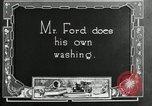 Image of Warren G Harding camping with Ford, Firestone, and Edison Maryland United States USA, 1921, second 43 stock footage video 65675032004