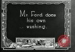 Image of Warren G Harding camping with Ford, Firestone, and Edison Maryland United States USA, 1921, second 44 stock footage video 65675032004