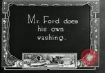 Image of Warren G Harding camping with Ford, Firestone, and Edison Maryland United States USA, 1921, second 45 stock footage video 65675032004
