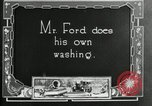 Image of Warren G Harding camping with Ford, Firestone, and Edison Maryland United States USA, 1921, second 46 stock footage video 65675032004