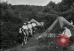 Image of Warren G Harding camping with Ford, Firestone, and Edison Maryland United States USA, 1921, second 54 stock footage video 65675032004