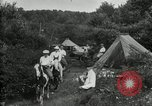 Image of Warren G Harding camping with Ford, Firestone, and Edison Maryland United States USA, 1921, second 56 stock footage video 65675032004