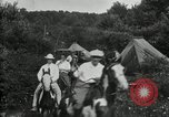 Image of Warren G Harding camping with Ford, Firestone, and Edison Maryland United States USA, 1921, second 60 stock footage video 65675032004
