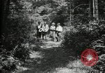 Image of group camping Maryland United States USA, 1921, second 8 stock footage video 65675032007