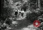 Image of group camping Maryland United States USA, 1921, second 12 stock footage video 65675032007