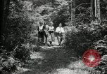 Image of group camping Maryland United States USA, 1921, second 13 stock footage video 65675032007