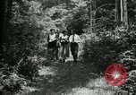 Image of group camping Maryland United States USA, 1921, second 15 stock footage video 65675032007