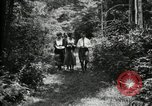 Image of group camping Maryland United States USA, 1921, second 16 stock footage video 65675032007