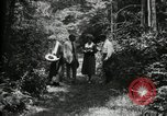 Image of group camping Maryland United States USA, 1921, second 21 stock footage video 65675032007